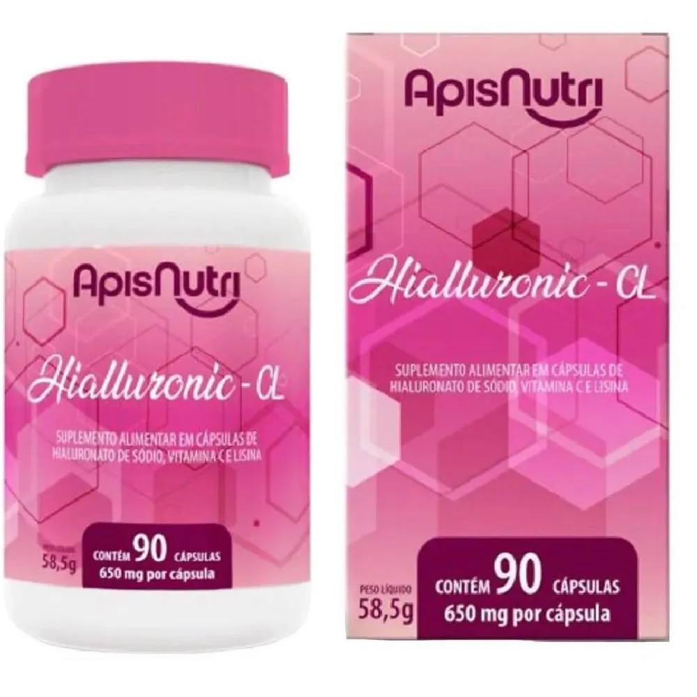 Hialluronic  CL  90 cápsulas 650 mg Apis Nutri