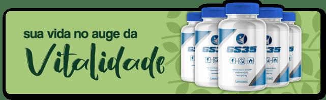 sua vida no auge da vitalidade, com GS35 da Natural Brands