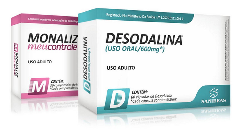 Kit 1 Desodalina 60 Cápulas + 1 Monaliz 30 Comprimidos - Emagrecimento