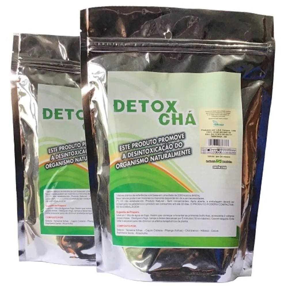 Kit 2 Detox Chá 120 g Vida Fiber