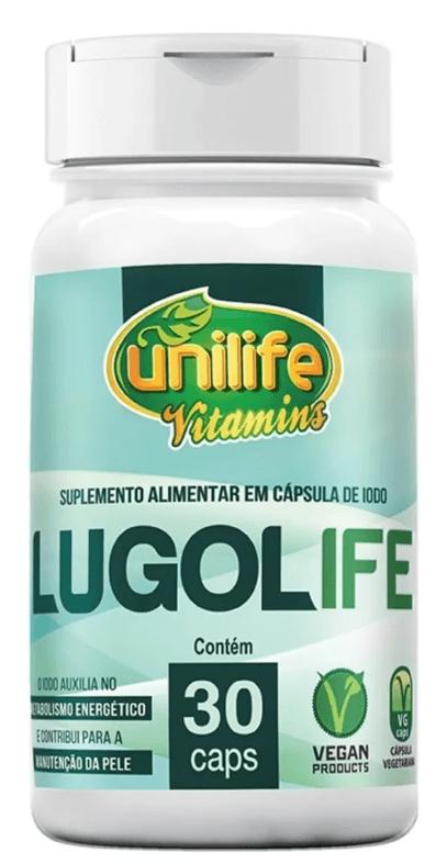 Lugolife 30 Cápsulas (iodo) Unilife