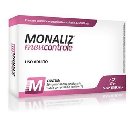 Monaliz 30 Comprimidos para Aumento da Saciedade