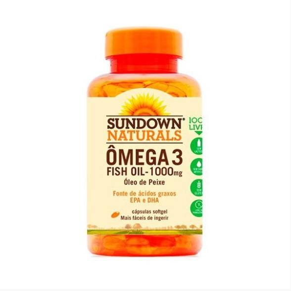 Ômega 3 Fish Oil - 60 Cápsulas - Sundown