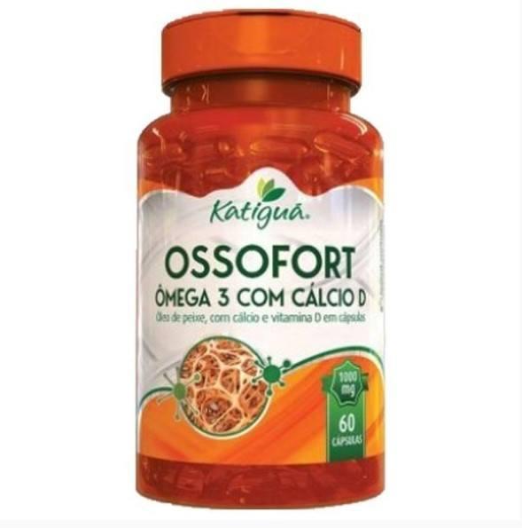 Ossofort (Ômega 3 + Cálcio D) - 60 Cápsulas - Katigua