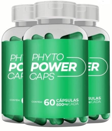 Phyto Power 60 cápsulas Kir com 3 unidades