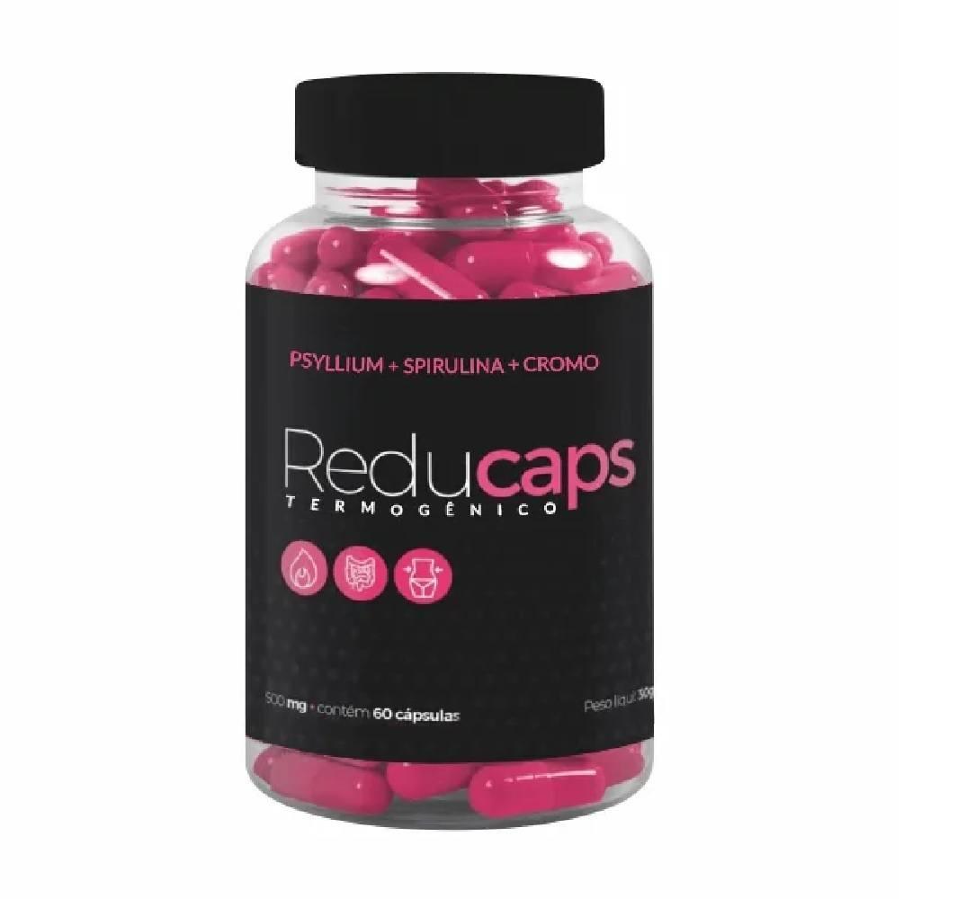 Reducaps termogenico 60 Caps. 500 mg Vida Natural