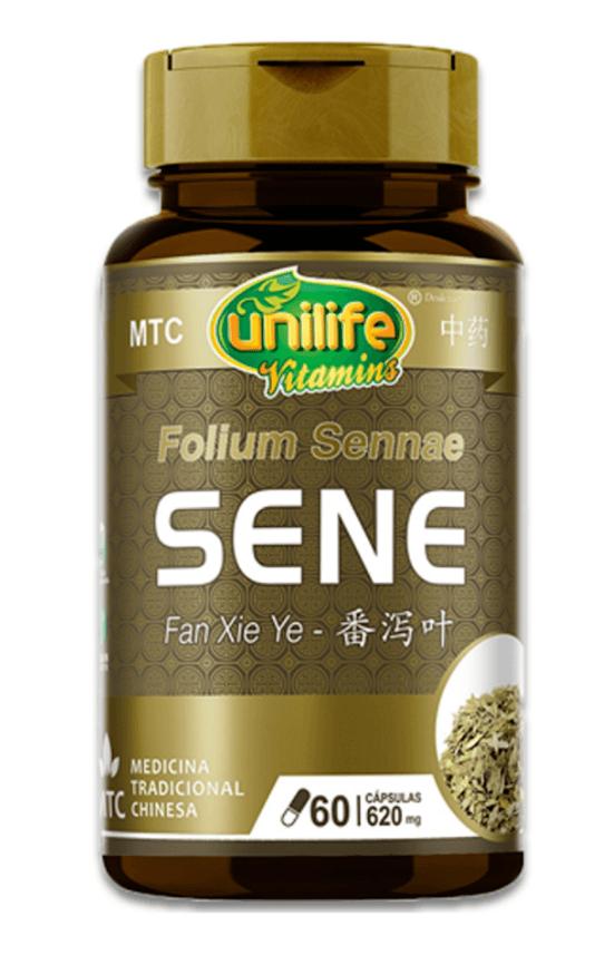 Sene Laxativo Natural Mtc Fan Xie Ye - 60 Cápsulas - Unilife