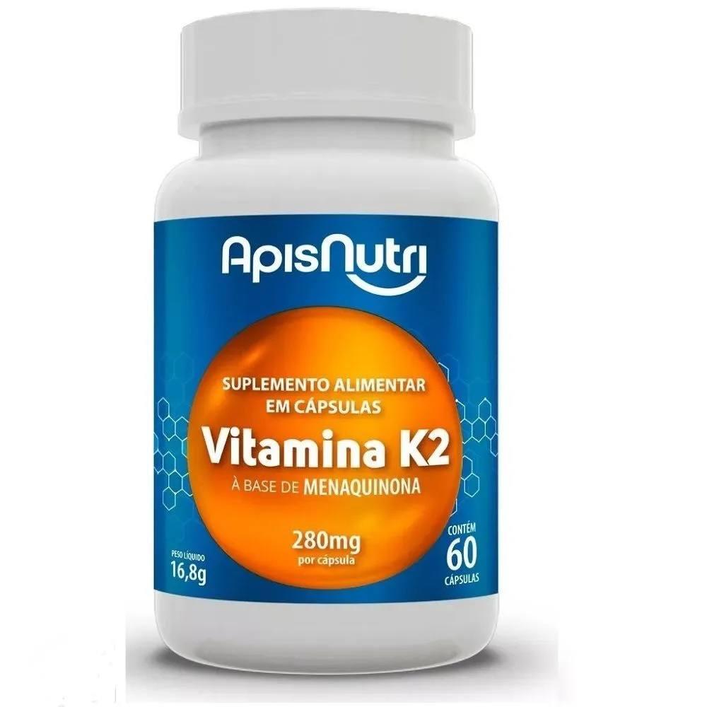 Vitamina K2 60 cápsulas  Apis Nutri