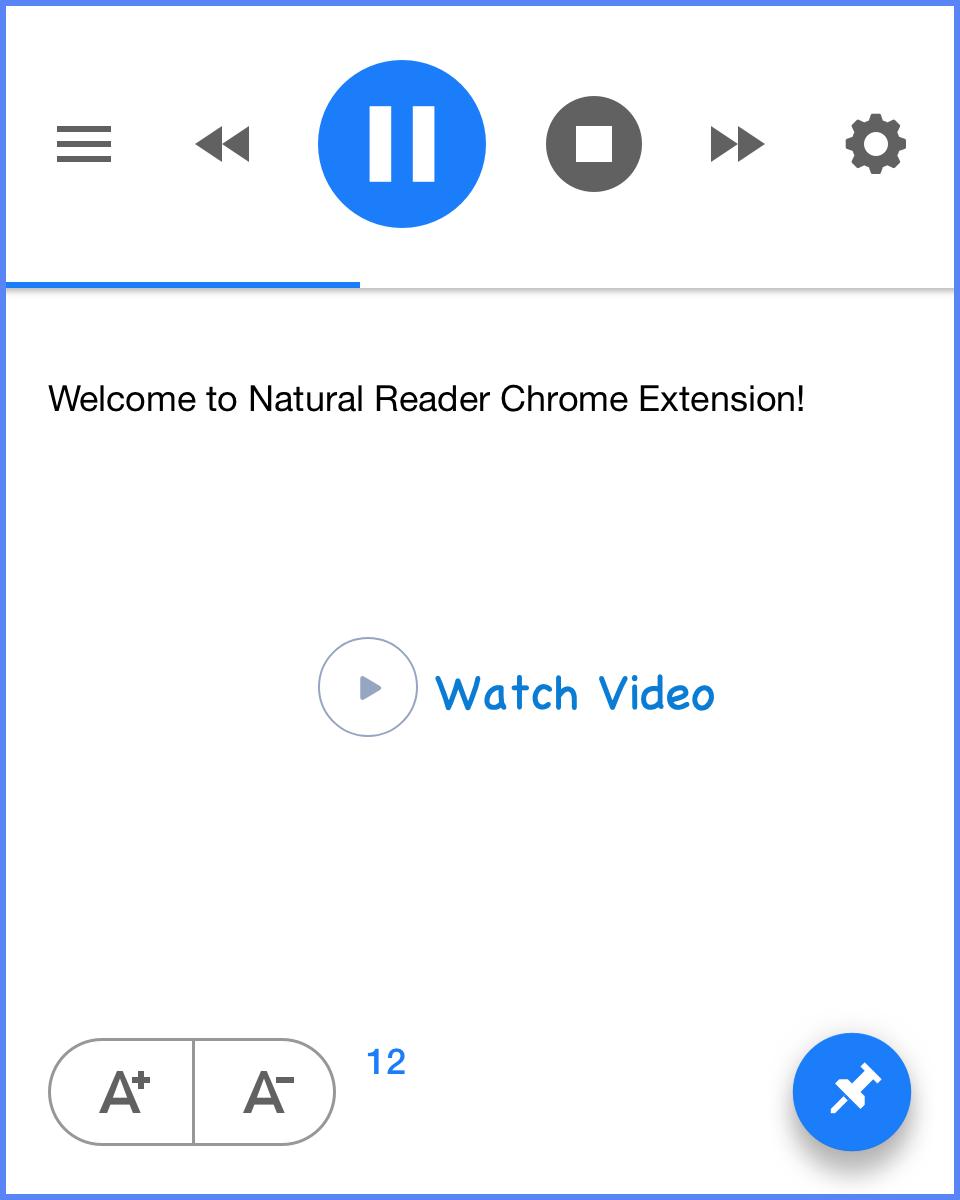 NaturalReader Chrome Extension
