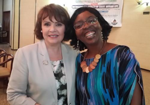 Dr. Nkechi Asogwa and Dana Scallon Natural Womanhood