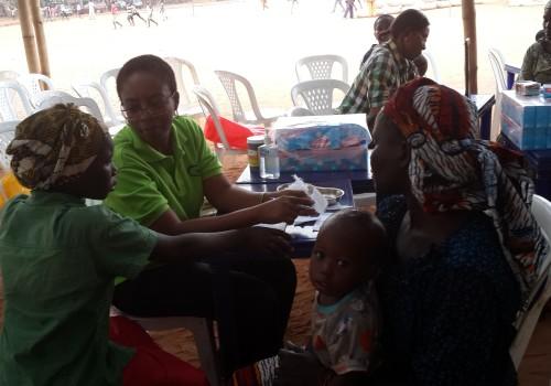 IDP Camp Nigeria Doctor Health Initiative