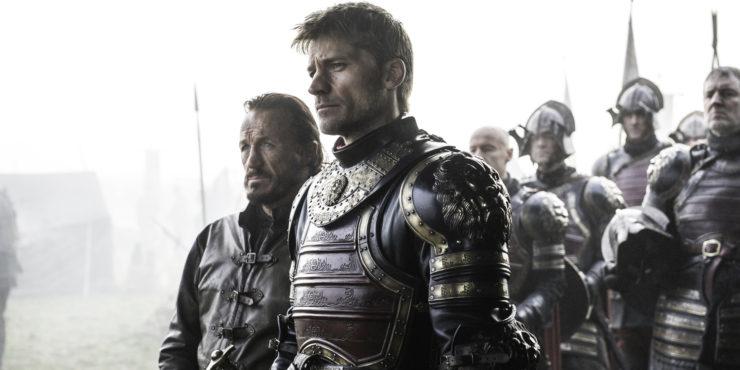 Jerome-Flynn-as-Bronn-and-Nikolaj-Coster-Waldau-as-Jaime-Lannister-in-Game-of-Thrones-season-6