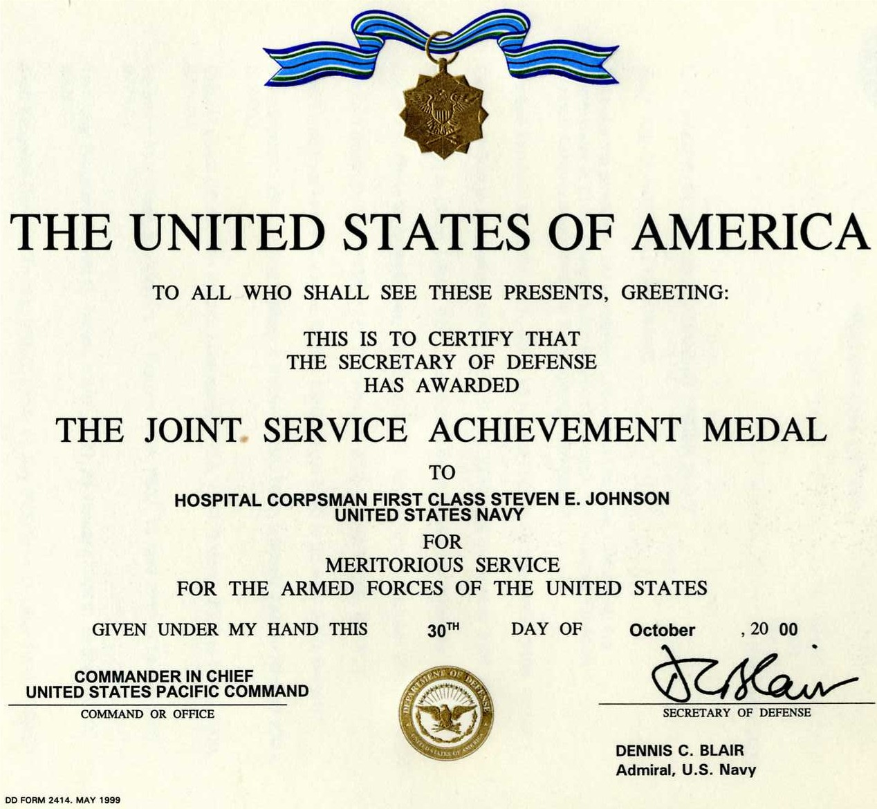 Outstanding meritorious service medal template motif for Life saving award certificate template