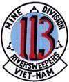Mine Division 113, USN River Patrol Force - Task Force 116 (TF-116)