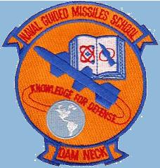 Guided Missile School (Cadre) Dam Neck, VA