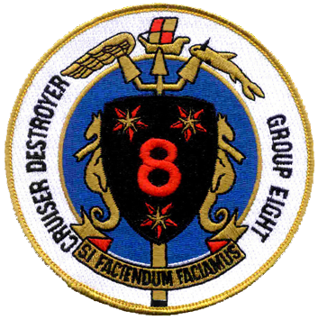 Cruiser Destroyer Group  8, Commander, Naval Surface Force, Atlantic (COMNAVSURFLANT)
