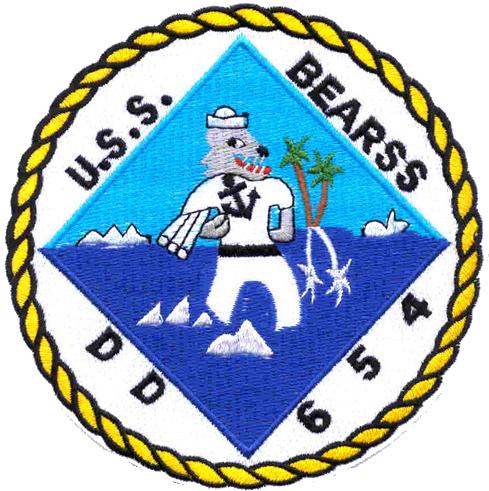 USS Bearss (DD-654)