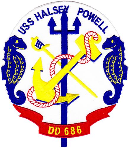 USS Halsey Powell (DD-686)