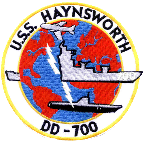 USS Haynsworth (DD-700)