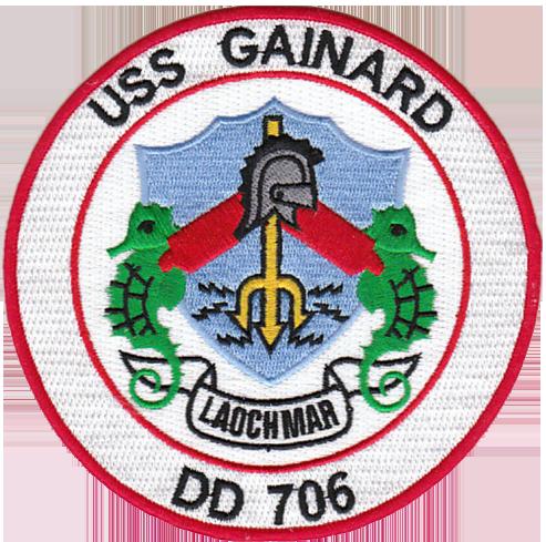 USS Gainard (DD-706)