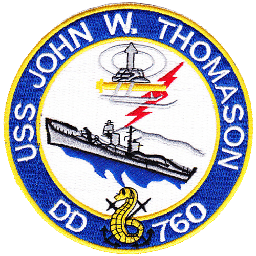 USS John W. Thomason (DD-760)