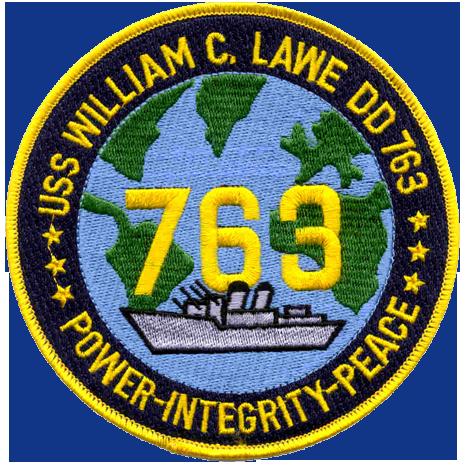 USS William C. Lawe (DD-763)