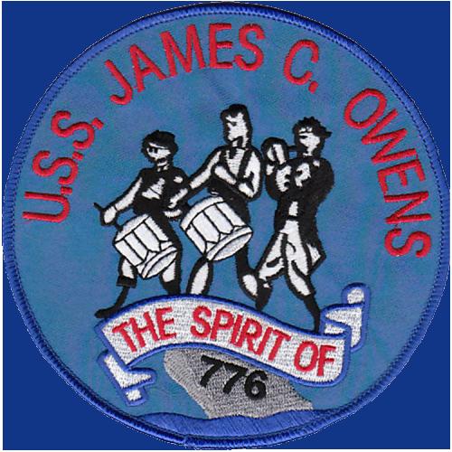 USS James C. Owens (DD-776)