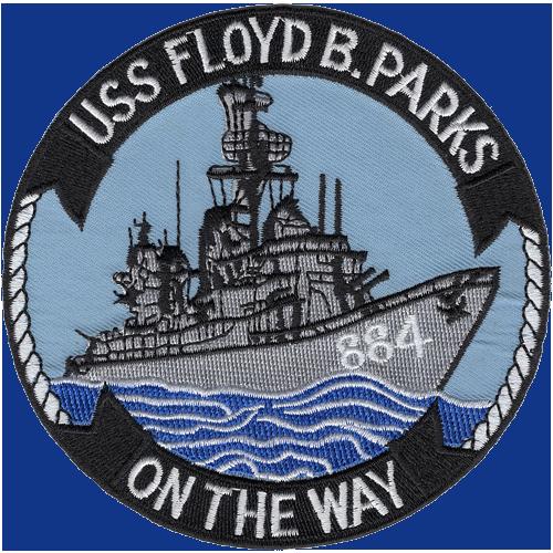 USS Floyd B. Parks (DD-884)