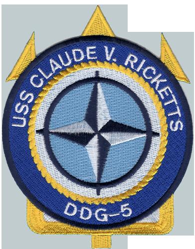 USS Claude V. Ricketts (DDG-5)