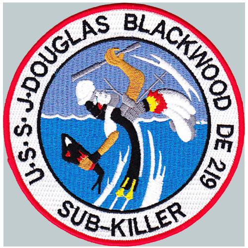 USS J. Douglas Blackwood (DE-219)