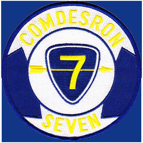 COMDESRON 7, COMCARSTRKGRU FIFTEEN