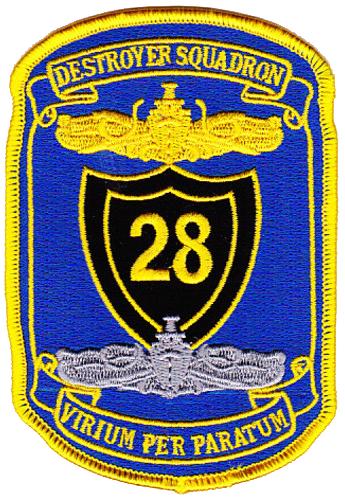 DESRON 28, Commander, Naval Surface Force, Atlantic (COMNAVSURFLANT)
