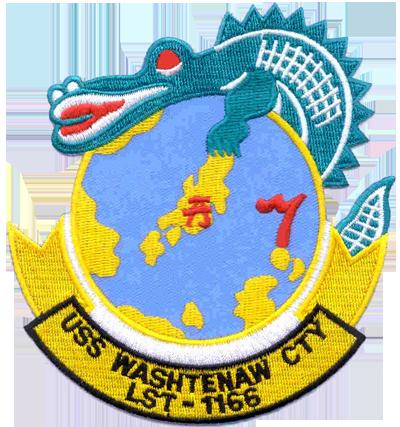 USS WASHTENAW COUNTY LST-1166