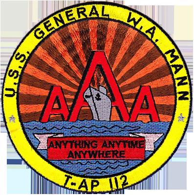 USS General W.A. Mann (T-AP-112)