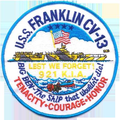 USS Franklin (CV-13)
