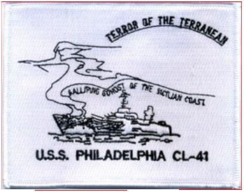 USS Philadelphia (CL-41)