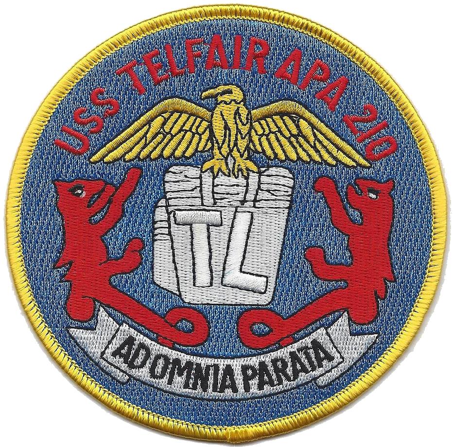 USS Telfair (APA-210)