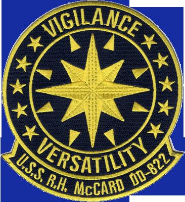 USS Robert H. Mccard (DD-822)
