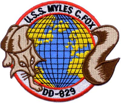 USS Myles C. Fox (DD-829)