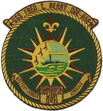 USS Fred T. Berry (DD-858)