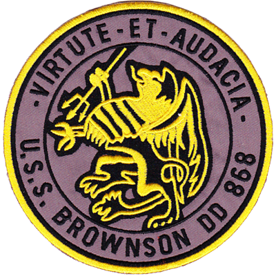 USS Brownson (DD-868)