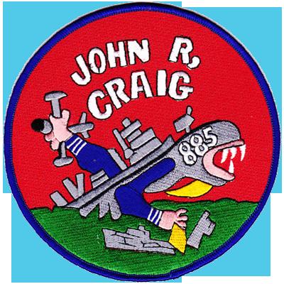 USS John R. Craig (DD-885)