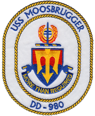 USS Moosbrugger (DD-980)
