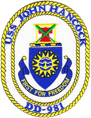 USS John Hancock (DD-981)