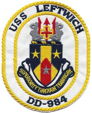 USS Leftwich (DD-984)