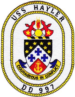 USS Hayler (DD-997)