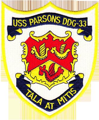 USS Parsons (DDG-33)