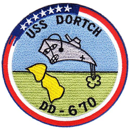 USS Dortch (DD-670)
