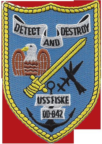 USS Fiske (DD-842/DDR-842)