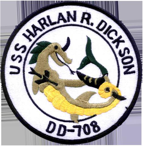 USS Harlan R.Dickson (DD-708)